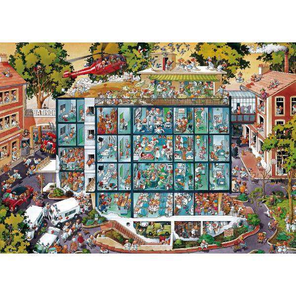 Emergency Room - 2000 pc jigsaw puzzle