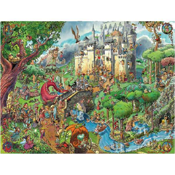 Fairy Tales - 1500pc jigsaw puzzle