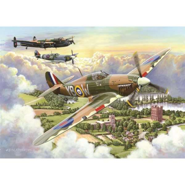 Final Approach - Big 500pc jigsaw puzzle