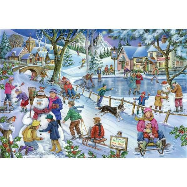 Frosty and Friends - Find the Difference No 9- 1000pc jigsaw puzzle