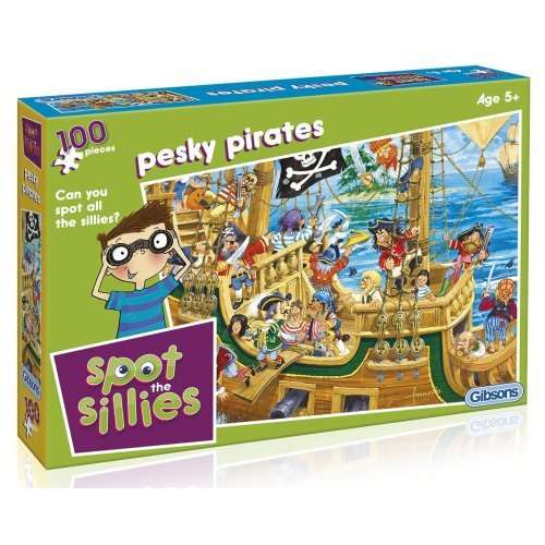 Spot The Sillies - Pesky Pirates jigsaw puzzle