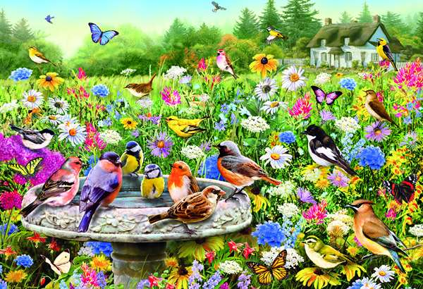 The Secret Garden - 100XXL pc Jigsaw Puzzle from Jigsaw