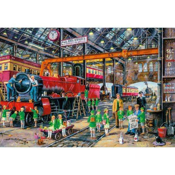 The School Outing - 500pc jigsaw puzzle
