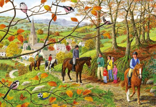 Beechwood Walk - 500pc jigsaw puzzle