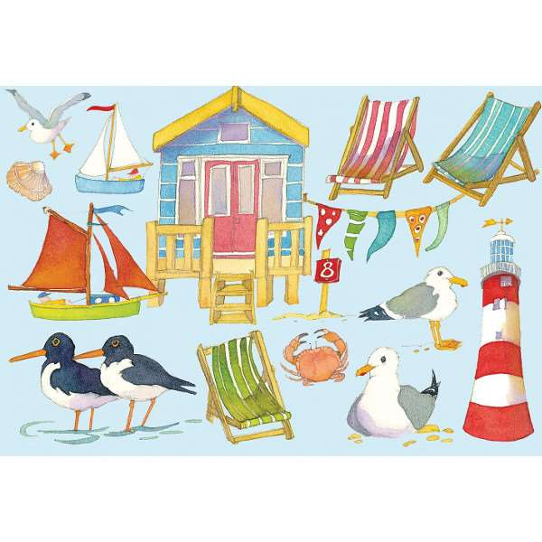 Seaside - 500pc jigsaw puzzle