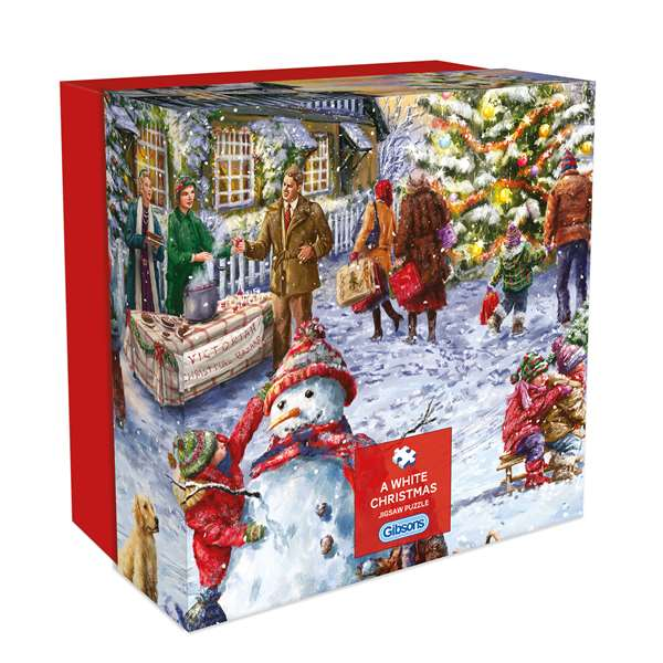 A White Christmas - 500pc Gift Box jigsaw puzzle