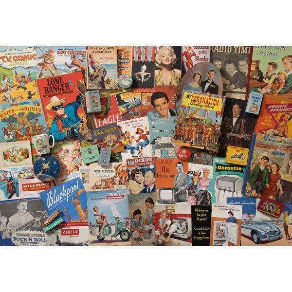 Spirit of the 50s - 500pc jigsaw puzzle