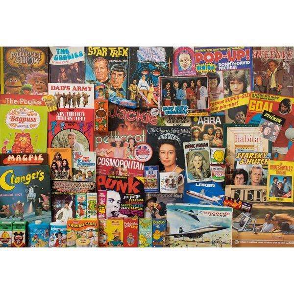 Spirit of the 70s - 500pc jigsaw puzzle