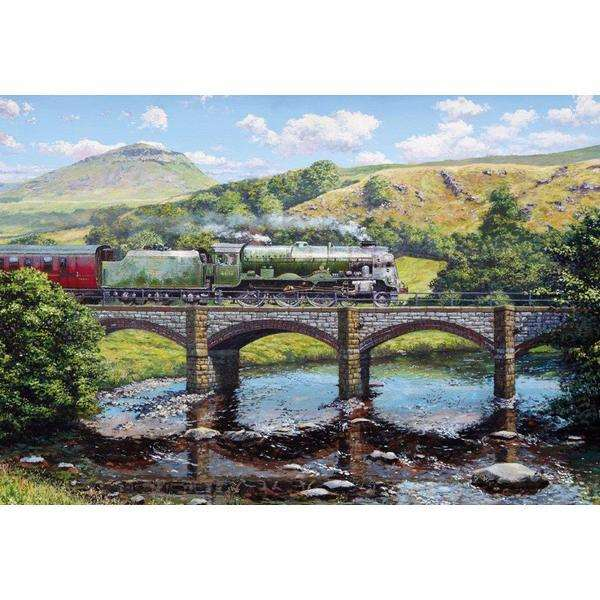 Crossing the Ribble - 500pc jigsaw puzzle