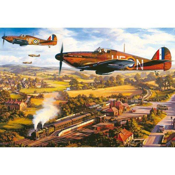 Tangmere Hurricanes - 500pc jigsaw puzzle