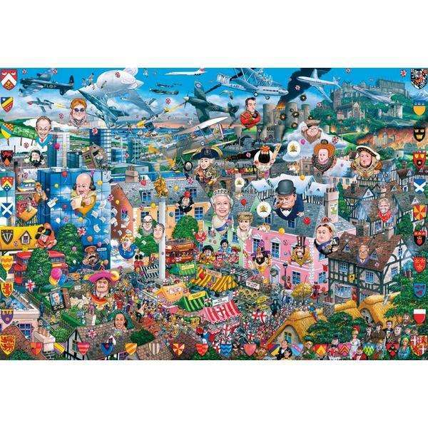 I love Great Britain - 500pc jigsaw puzzle