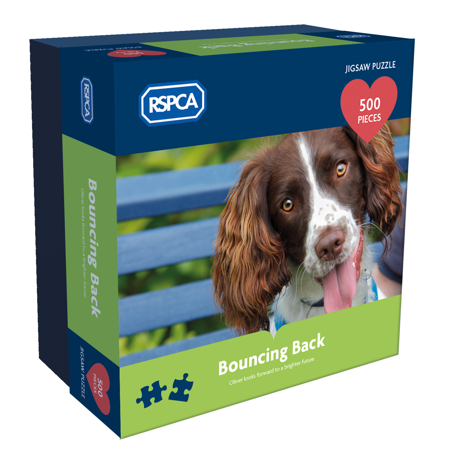 RSPCA - Bouncing Back - 500pc jigsaw puzzle
