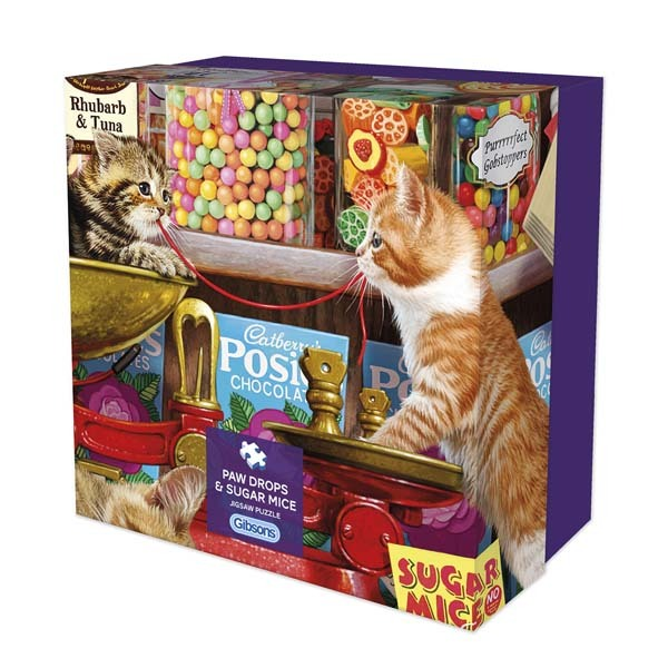 Paw Drops and Sugar Mice - 500pc jigsaw puzzle