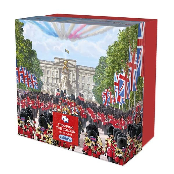 Trooping the Colour - 500pc jigsaw puzzle
