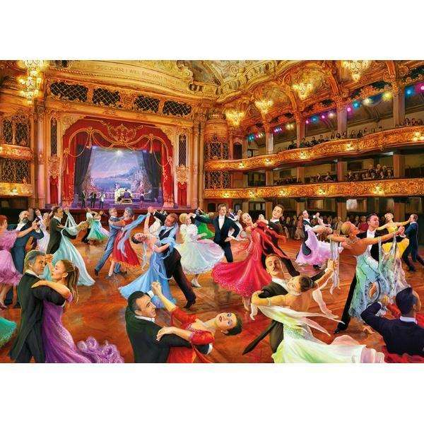 Keep on Dancing - 500XLpc jigsaw puzzle
