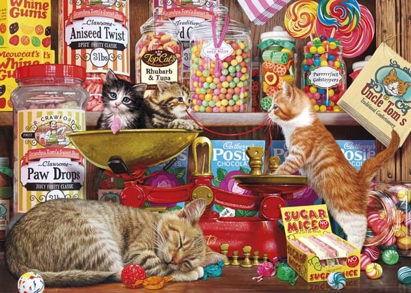 Paw Drops and Sugar Mice - 500XL jigsaw puzzle