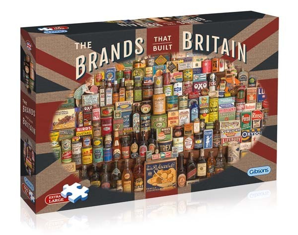 The Brands that Built Britain - 500XLpc jigsaw puzzle