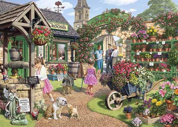 77fe3fc1f981 Glennys Garden Shop - 500XLpc Jigsaw Puzzle from Jigsaw Puzzles ...