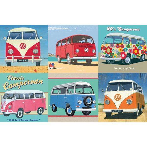 Official VW Campervan - 500pc jigsaw puzzle