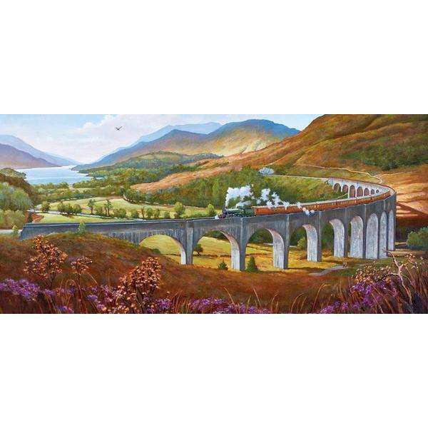 Glenfinnan Viaduct - 636pc jigsaw puzzle