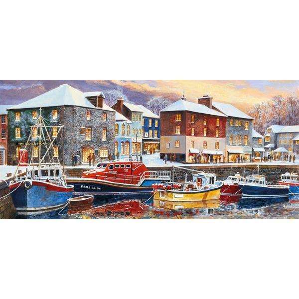 Padstow in Winter - 636pc jigsaw puzzle