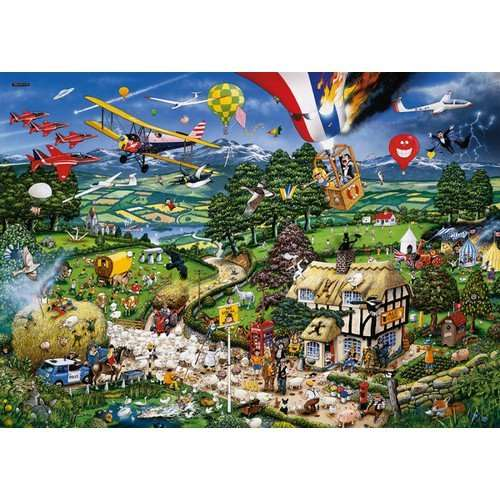 I Love The Country jigsaw puzzle