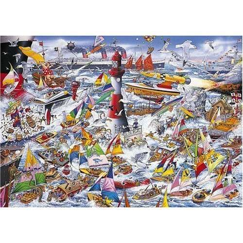 I Love Boats jigsaw puzzle