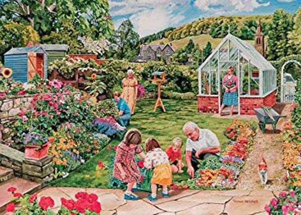 Little Gardeners - 1000pc jigsaw puzzle