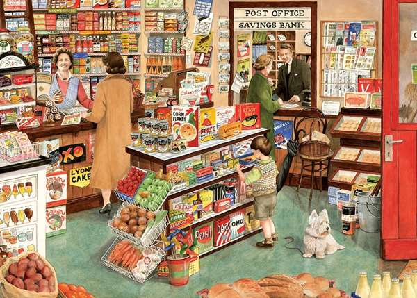 The Village Shop jigsaw puzzle