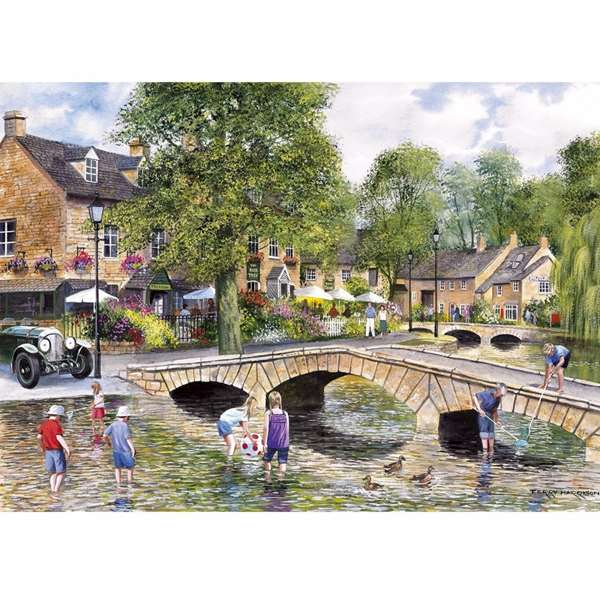 Bourton On The Water jigsaw puzzle