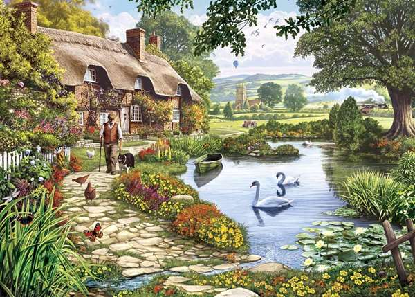 Meadow Farm jigsaw puzzle
