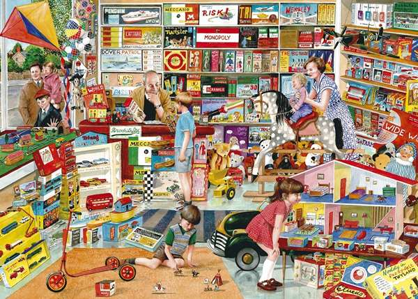 Best toy shop in town jigsaw puzzle from jigsaw puzzles direct order