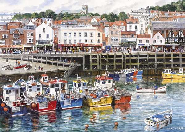 Scarborough Jigsaw Puzzle From Jigsaw Puzzles Direct
