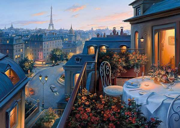 An Evening In Paris jigsaw puzzle