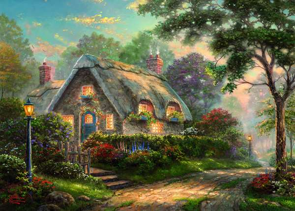 Lovelight Cottage - 1000pc jigsaw puzzle