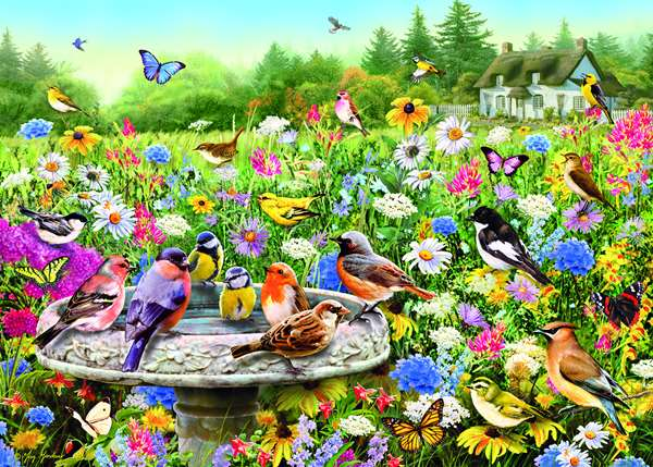The Secret Garden - 1000pc jigsaw puzzle