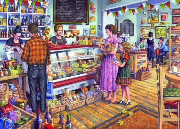 The Deli - 1000pc jigsaw puzzle