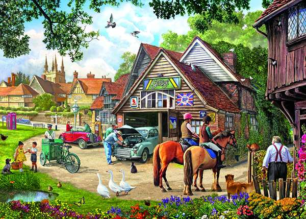 Afternoon Amble - 1000pc jigsaw puzzle