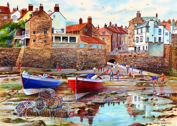 Robin Hoods Bay - 1000pc jigsaw puzzle