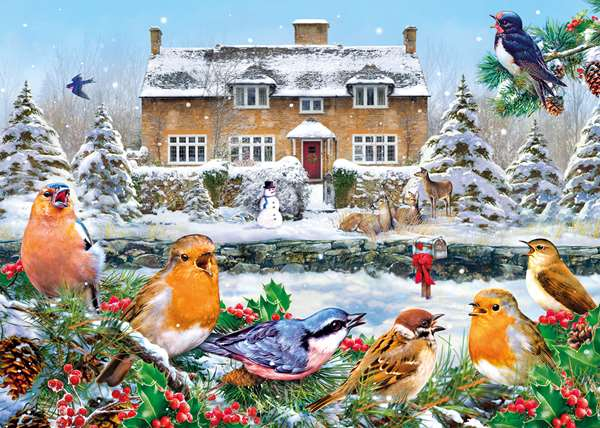 A Winter Song - 1000pc jigsaw puzzle