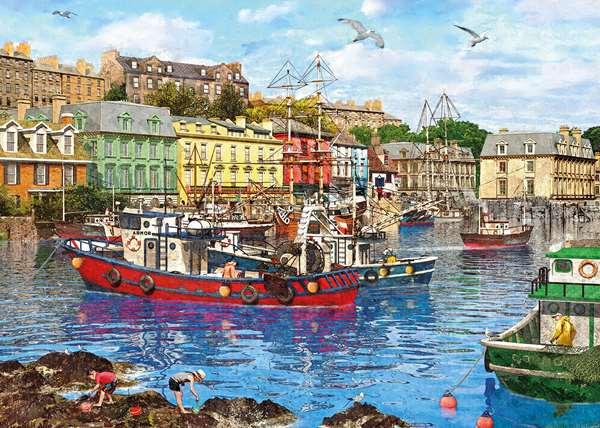 Cobh Harbour - 1000pc jigsaw puzzle