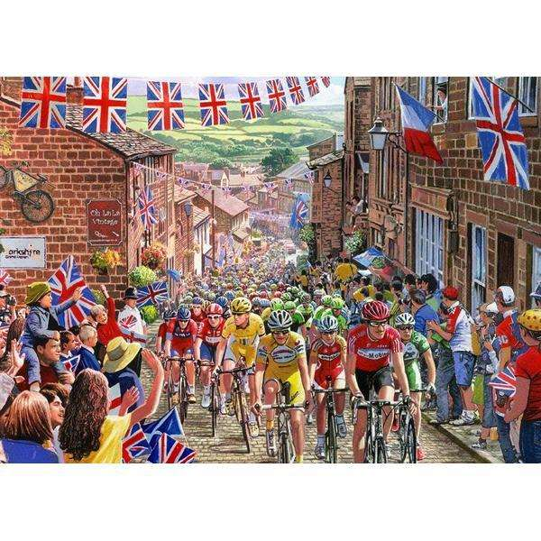 Le Tour de Yorkshire - 1000pc jigsaw puzzle