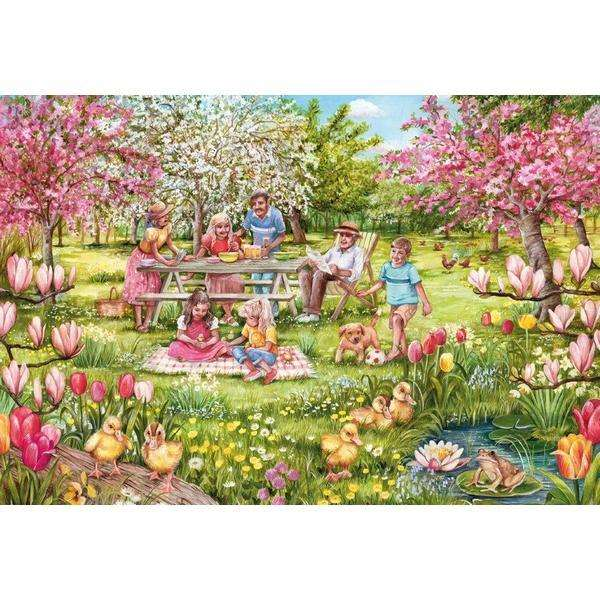 Five Little Ducks - 1000pc jigsaw puzzle