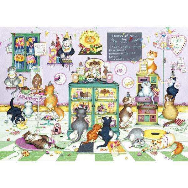 Life Is Sweet 1000pc Jigsaw Puzzle From Jigsaw Puzzles Direct Order Today And Get Free Delivery
