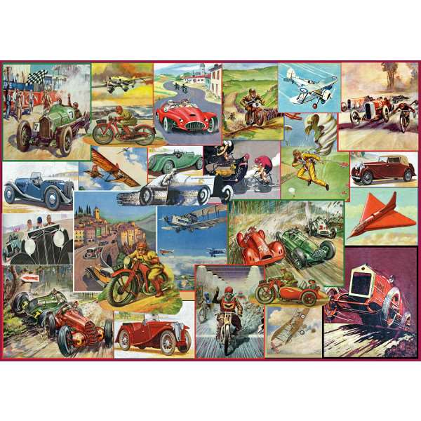 The Racing Game - 1000pc jigsaw puzzle