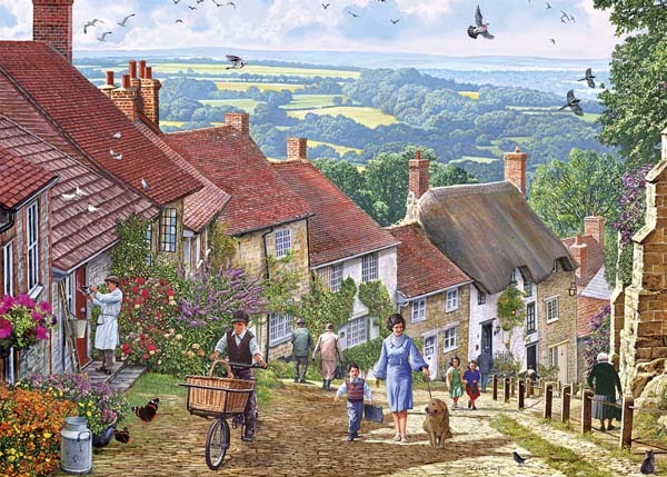 Gold Hill - 1000pc jigsaw puzzle