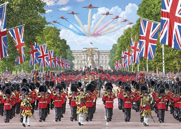 Trooping the Colour - 1000pc jigsaw puzzle