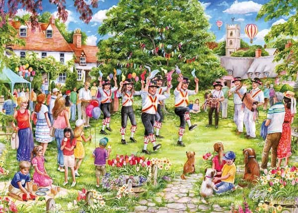 The Country Dance -1000pc jigsaw puzzle