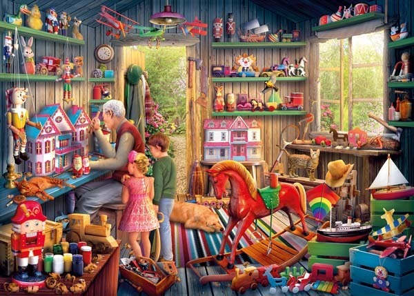 Toymakers Workshop - 1000pc jigsaw puzzle