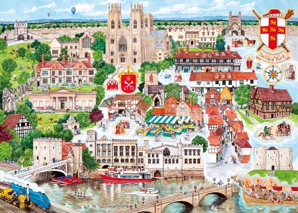 York - 1000pc jigsaw puzzle